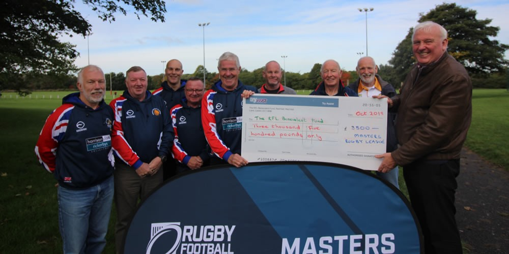 Masters Rugby League Donation