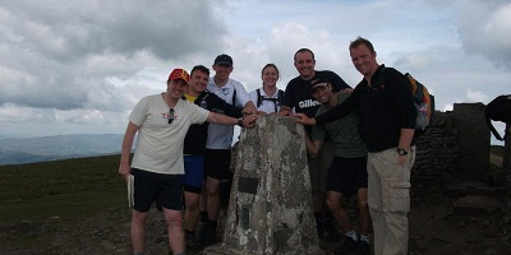 RFL Staff complete 3 Peaks walk for RFL Benevolent fund