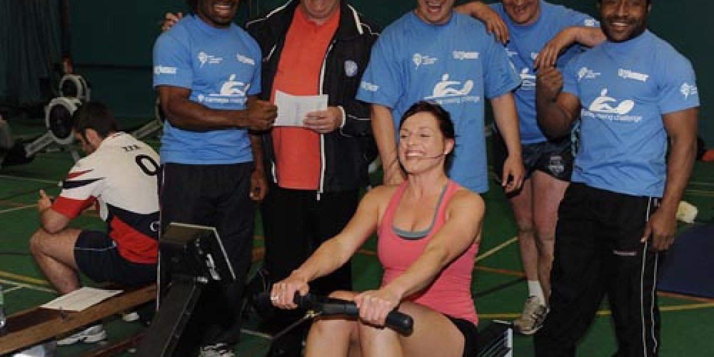 Oarsome effort in marathon rowing challenge