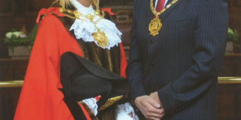 The Mayor of Wakefield nominates The RFL Benevolent Fund as one of her two chosen charities