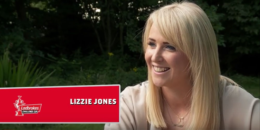 Watch: Lizzie Jones talks about her upcoming Challenge Cup performance