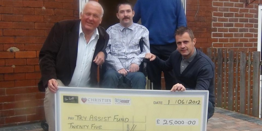 STEVE PRESCOTT FOUNDATION CONTINUES TO SUPPORT THE FRL BENEVOLENT FUND