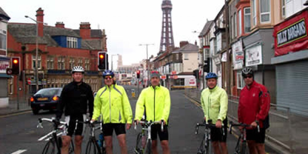 Cyclists Complete Coast to Coast Challenge