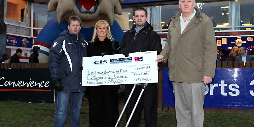 Lord Mayors appeal raises over £6500 for the RFL Benevolent fund